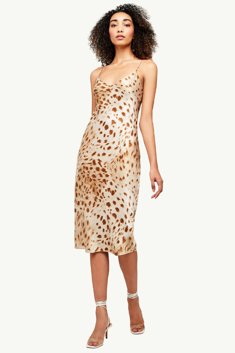 Jodie Slip Dress - Goldie