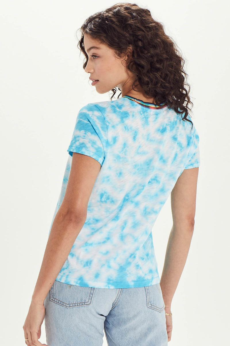 Rainbow Tipped Boy Tie Dye Tee