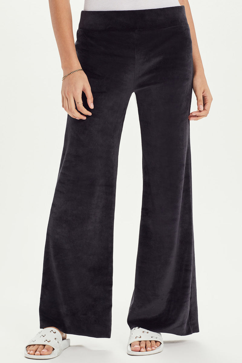 Velour Flare Sweatpant