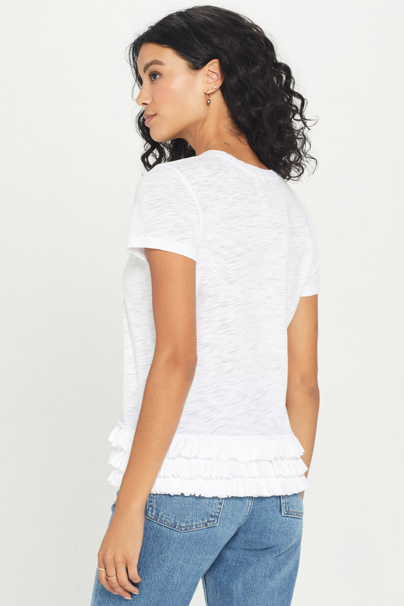 Ruffle Boy Tee - Goldie