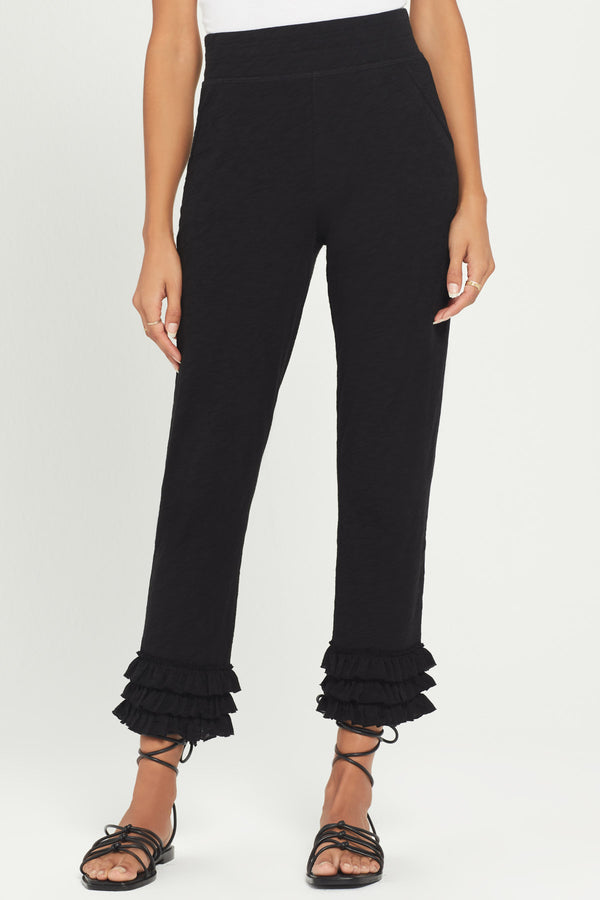 Ruffle Pant - Goldie