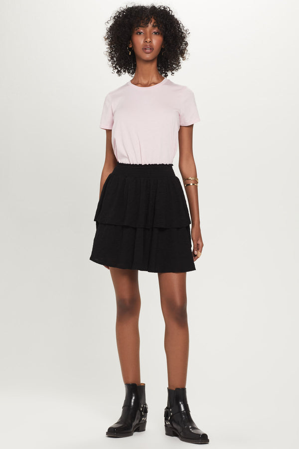 Ruffle Mini Skirt - Goldie