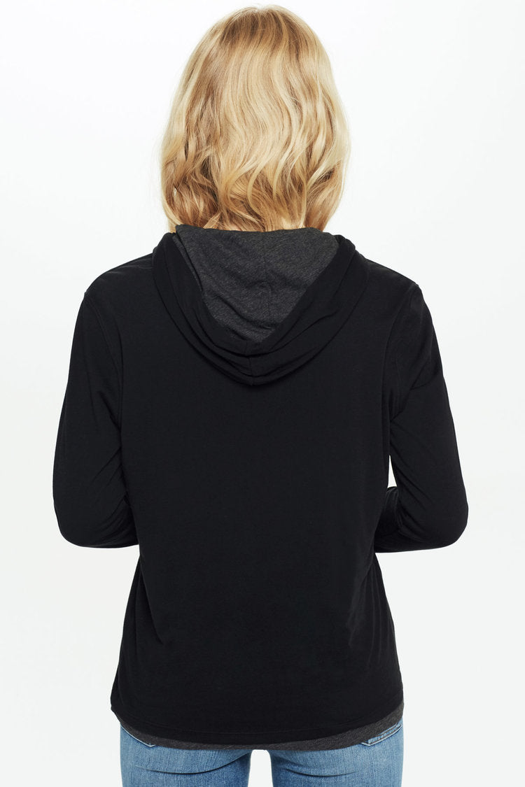 Double Layer Hoodie - Goldie
