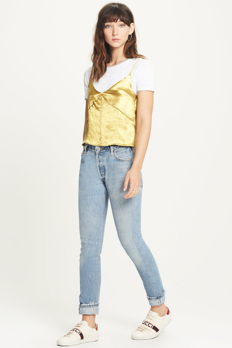 Double Layer Tee - Goldie