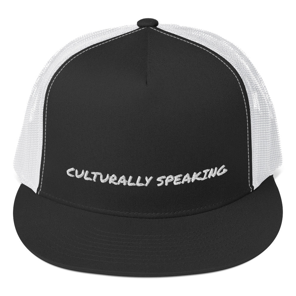 Culturally Speaking Trucker Cap