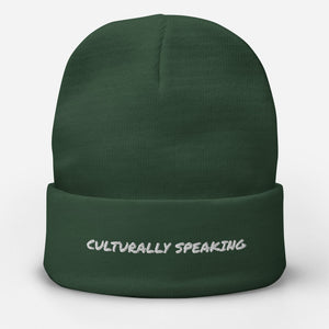 Culturally Speaking Beanie