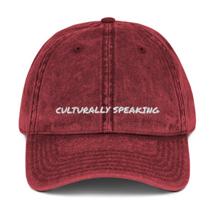 Culturally Speaking Cap