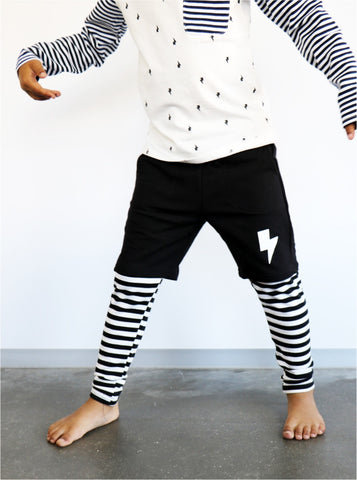 Lightning Stripe Pants