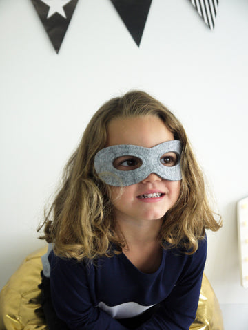 Super Hero Mask in GREY