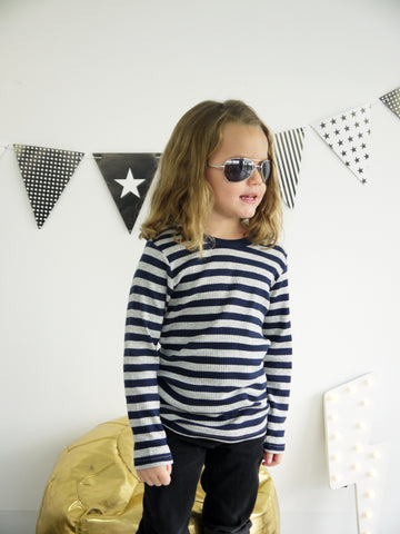 Big Stripe Long Sleeve (Size 5)