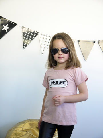 Just Kiss Me Tee (Sizes 2 + 3)