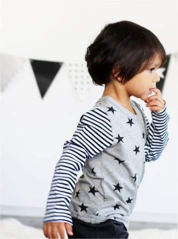 Star Stripe Long Sleeve (Size 6)