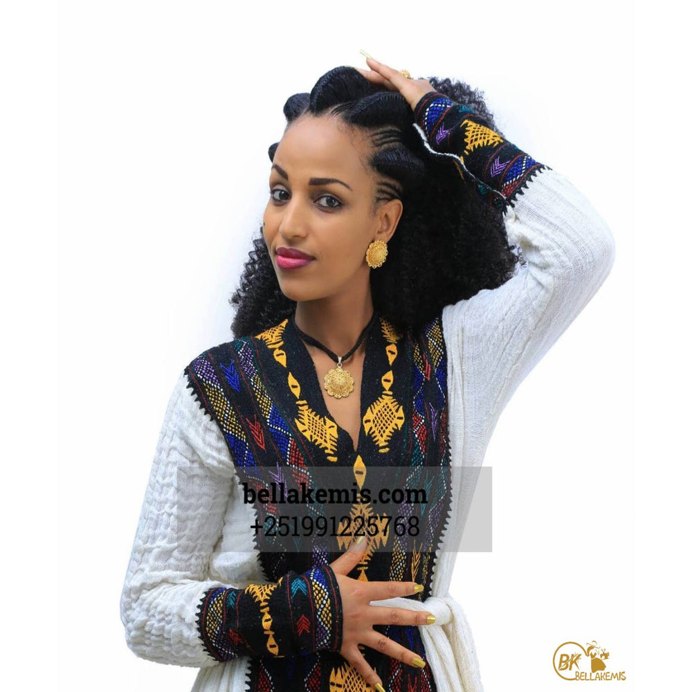 Mengstu Tesema Design - Ethiobella Ethiopian Traditional Dresses