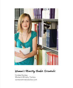 Women's Ministry Binder Essentials (eBook)