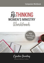 Load image into Gallery viewer, Rethinking Women's Ministry Workbook (Paperback)
