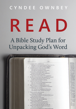 Load image into Gallery viewer, READ: A Bible Study Plan for Unpacking God's Word (Paperback)