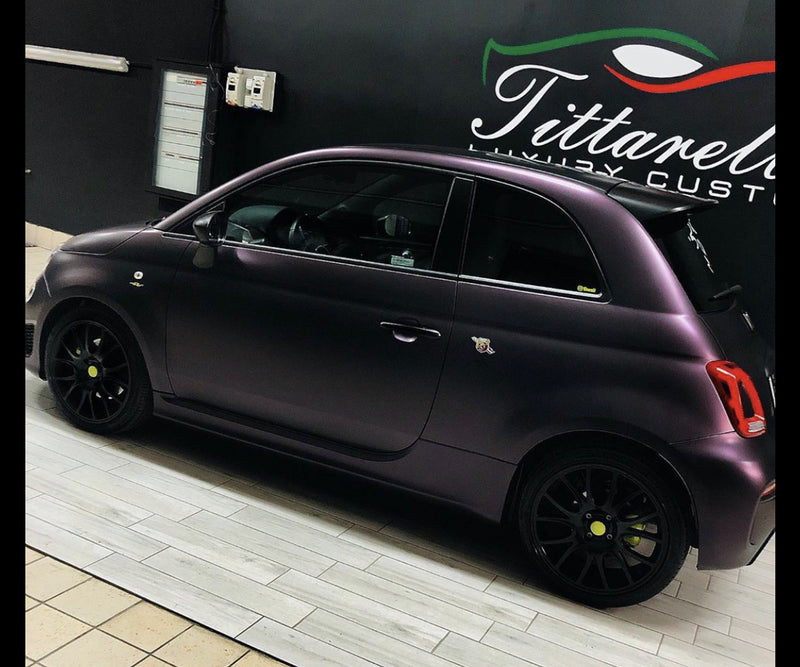 Abarth 500 Purple Midnight