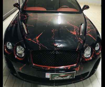 Bentley Continental SuperSport - Marble Red