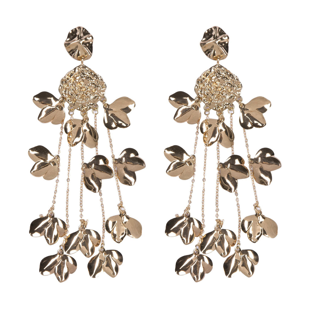 Midas Touch Earrings Gold