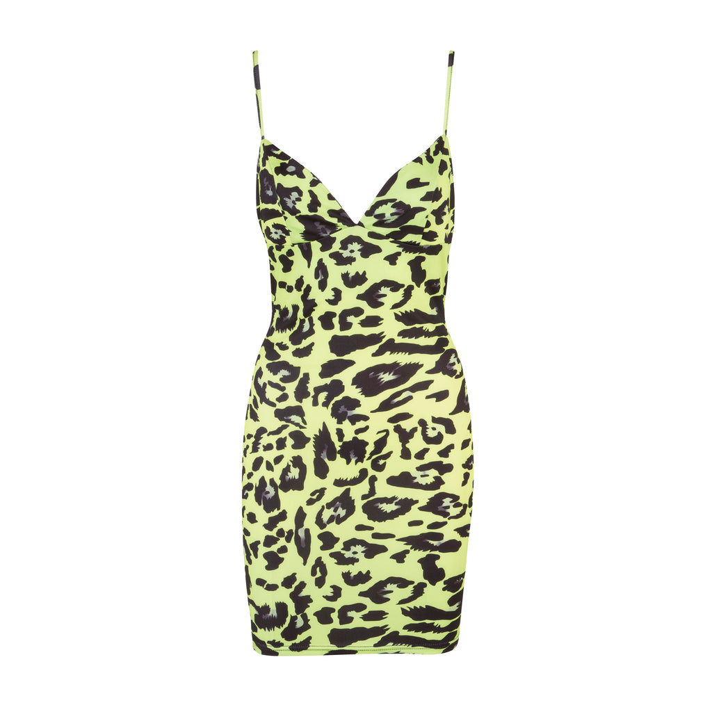 Ride the Wild Wind Dress Lime Green