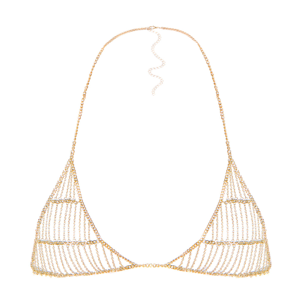 Supply Chain Bralet Gold