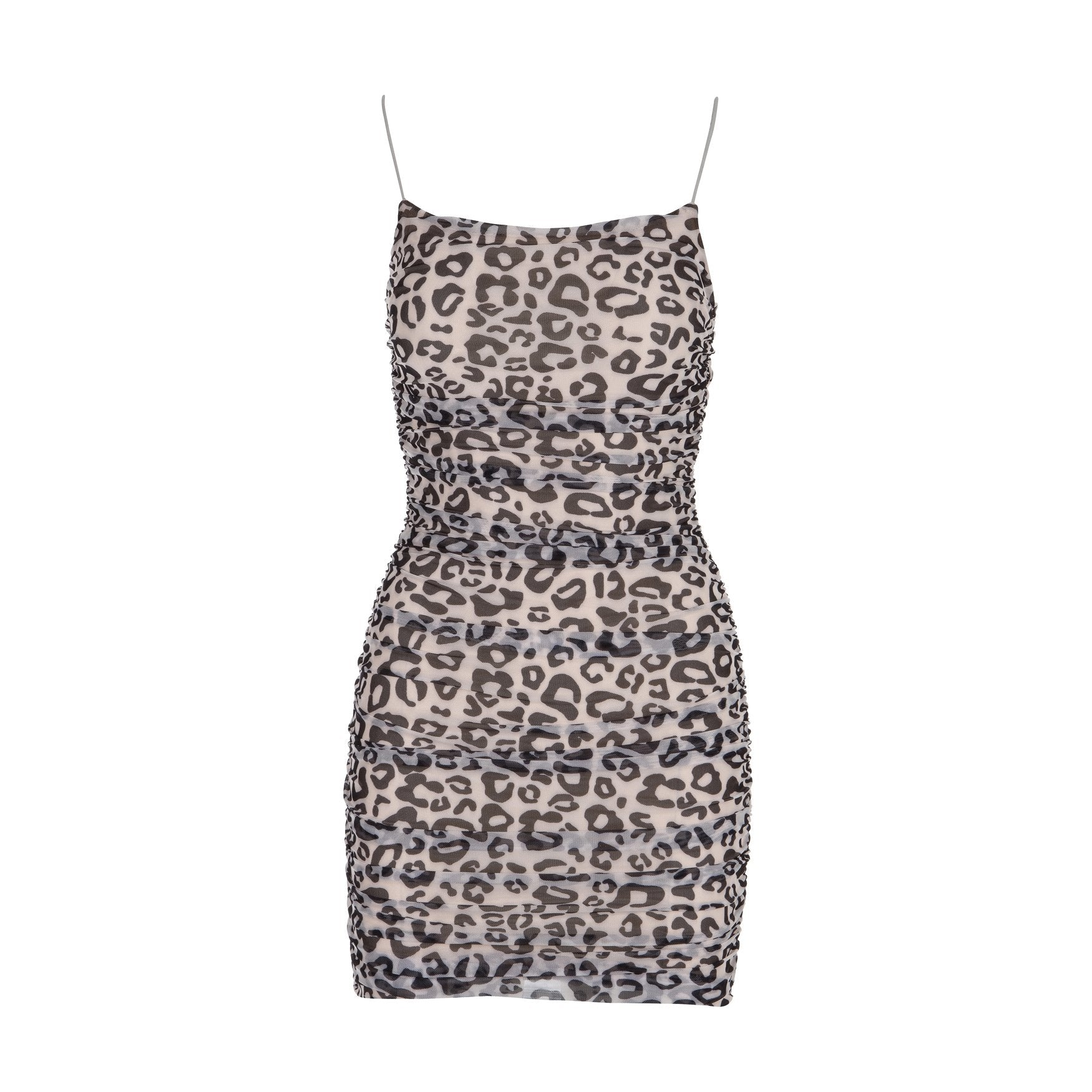 Walk On The Wild Side Mini Dress Leopard Print