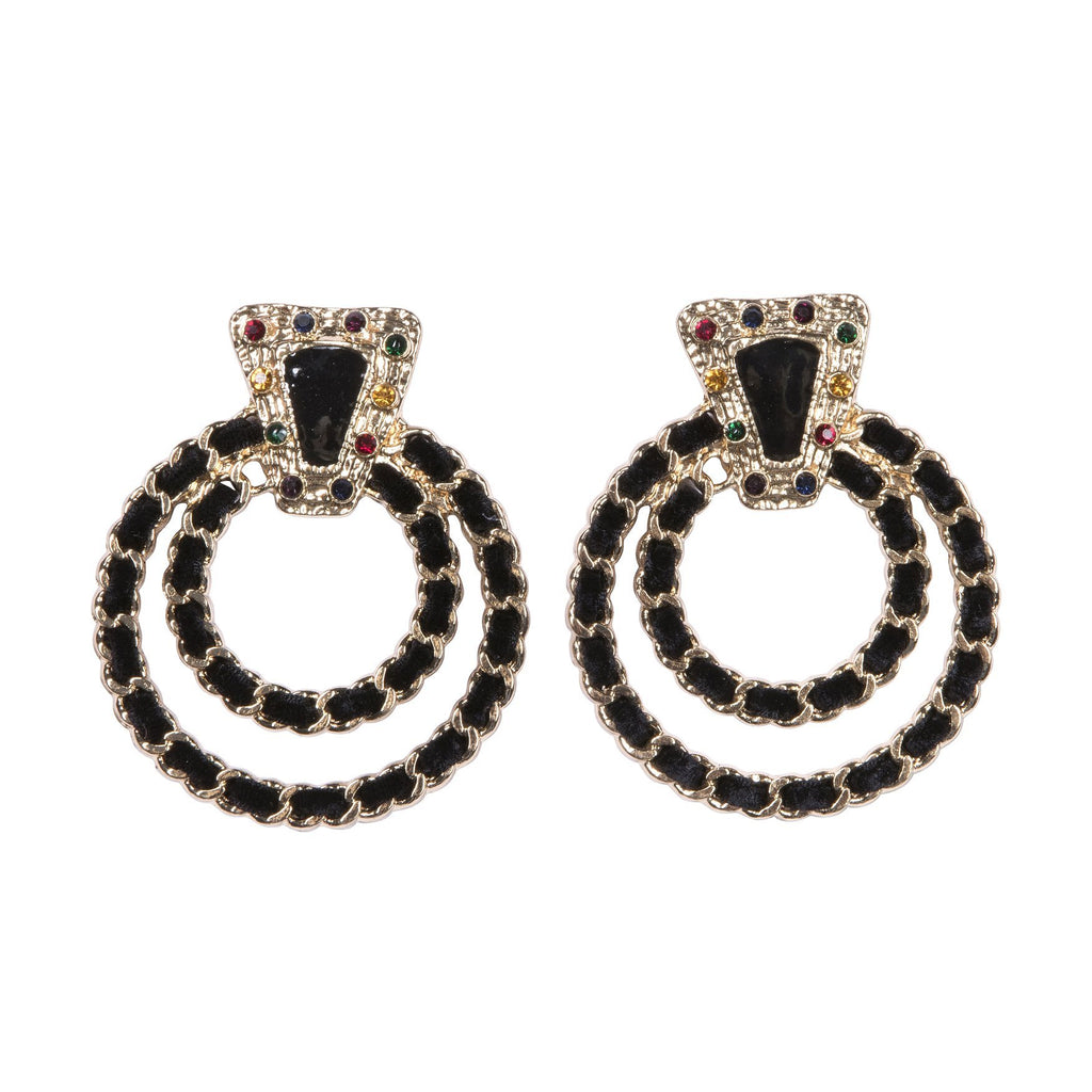 Wild Thing Earrings Black