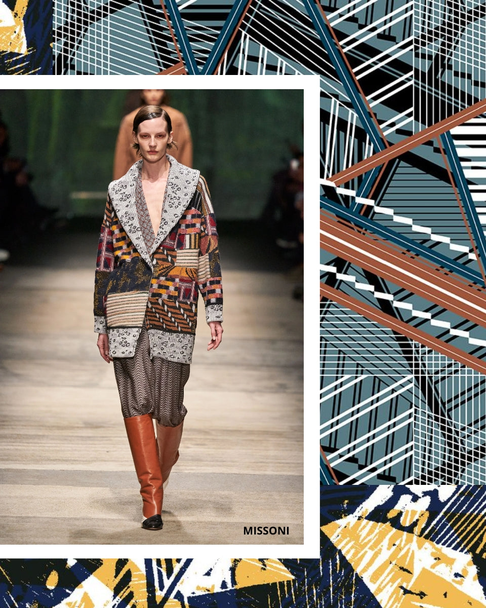 Missoni Geometrical Textile Designs