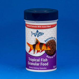 FishScience Tropical Granular Fish Food