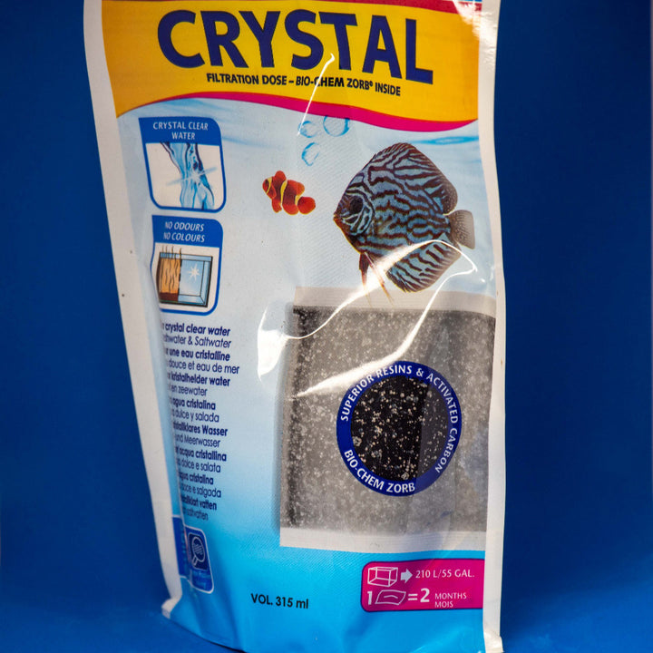 Front of Crystal Bio-Chem Zorb
