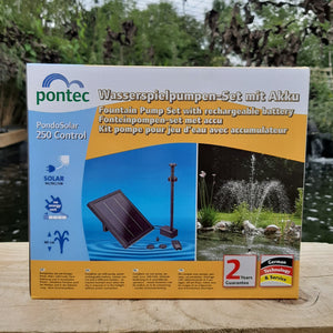 Pontec PondoSolar Control Solar Fountain Kit