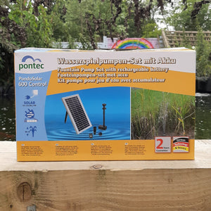 Pontec PondoSolar Control Solar Fountain Kit 600 Control