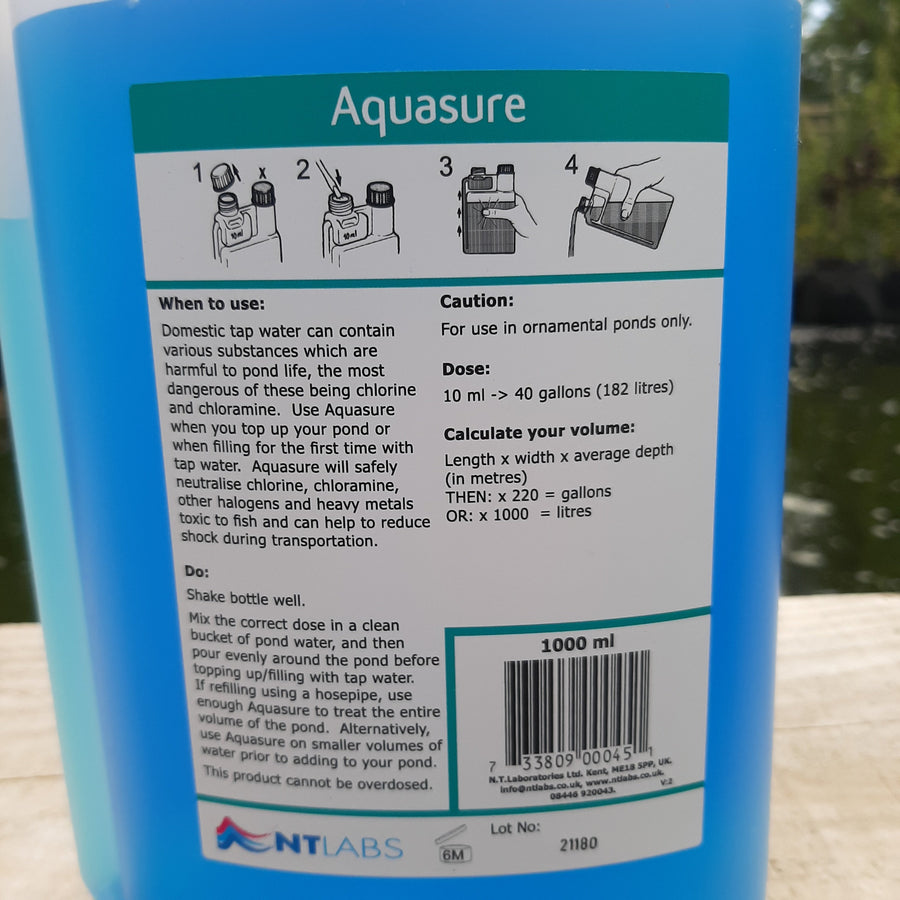 NT Labs Tap Water Chlorine Remover back