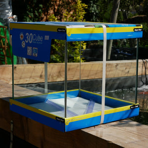 AquaOne Cube 30 (25 Litre) Aquarium (Glass Box Only)