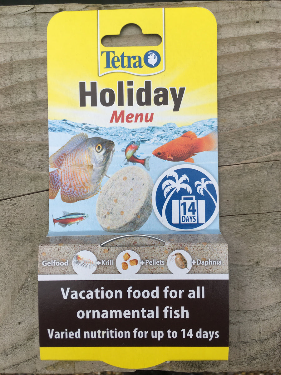 Tetra Holiday Menu 14 day feeding block