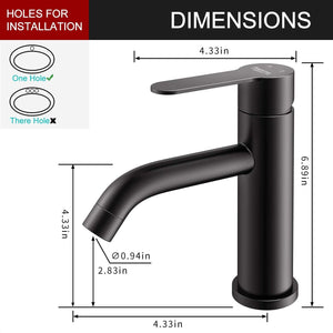 CH0890 - Bathroom Faucet Single Hole