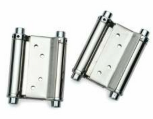 "JI00695  -  Spring Hinge Double Action 2"" 61/64"" x 2"" 61/64"" (75x75mm) SSS Per Set"
