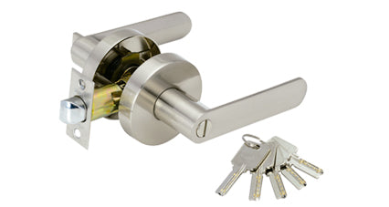 JI00438  -  TENERIFE Door Lock PRIVACY Brushed Nickel