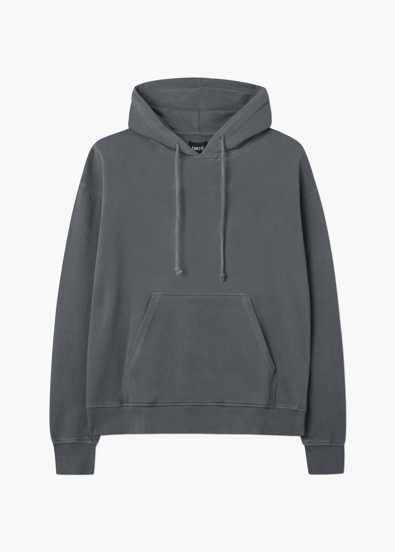 410GSM Hooded Sweatshirt Grey Wash - Coutié