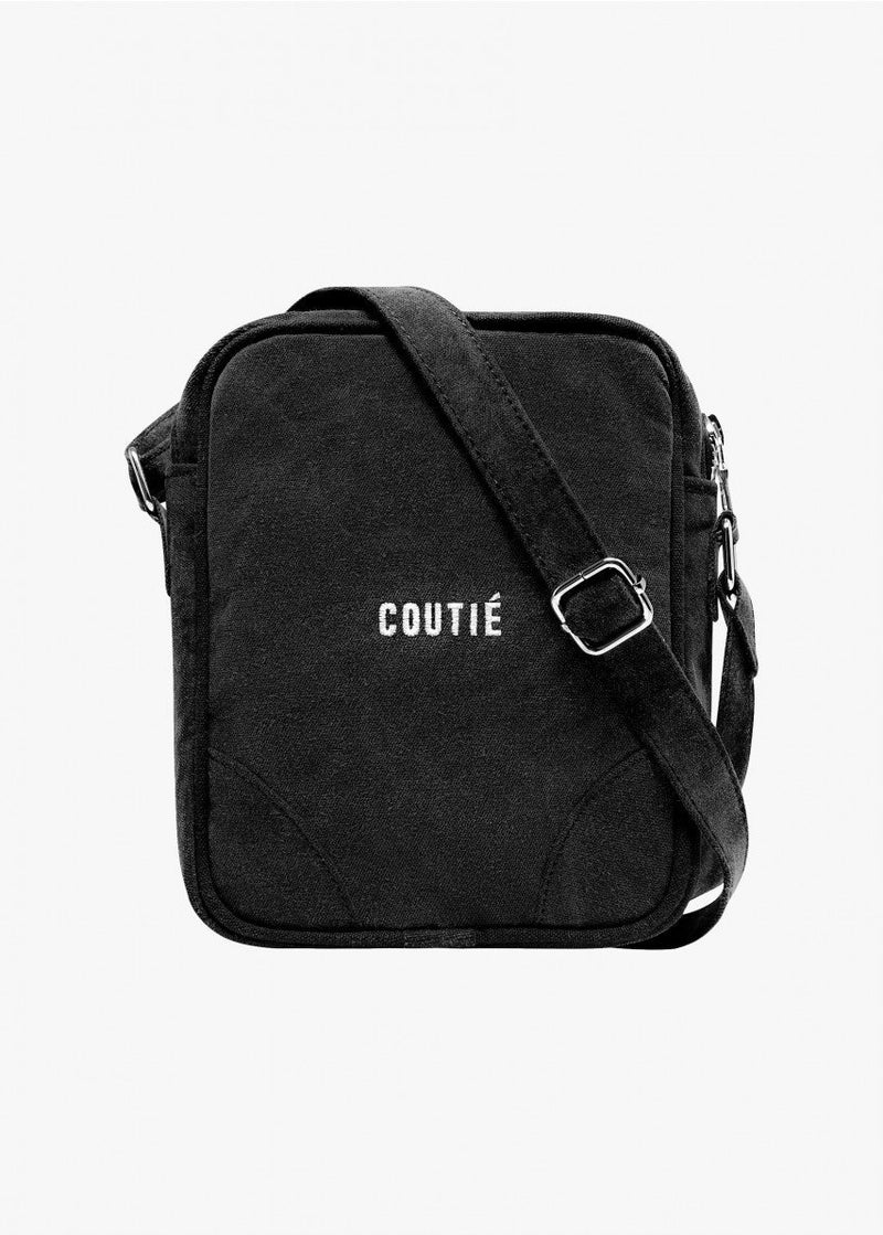 Crossbody Bag Washed Black - Coutié