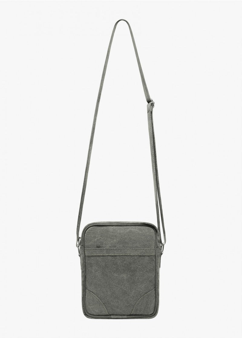 Crossbody Bag Washed Olive - Coutié