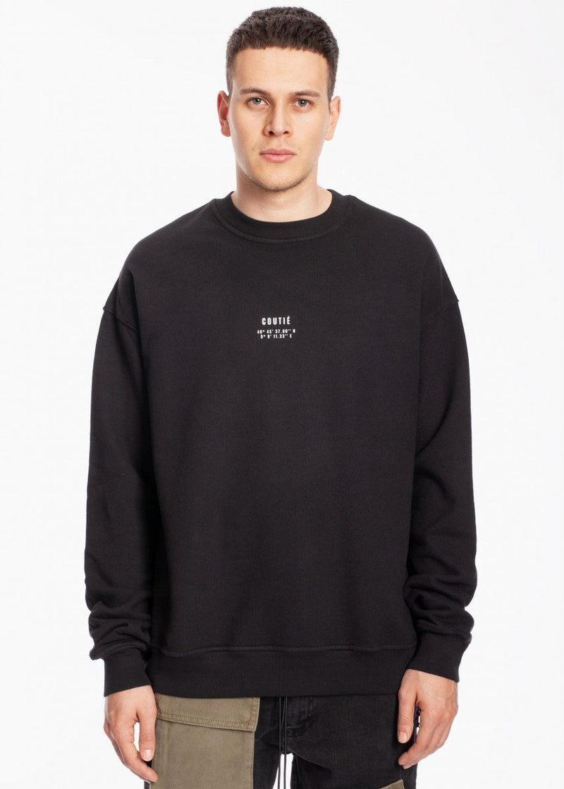 Geo Logo Sweatshirt Black