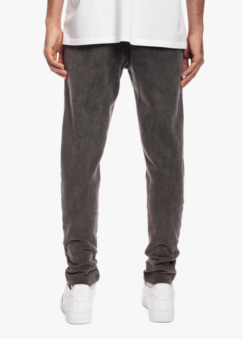 Pleated Sweat Pant Charcoal