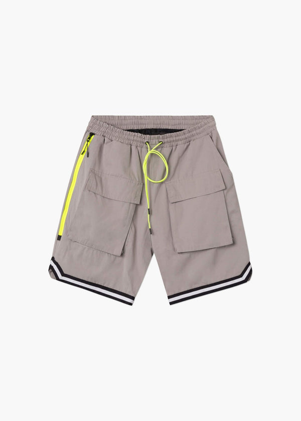 Tactical Basketball Shorts Grey