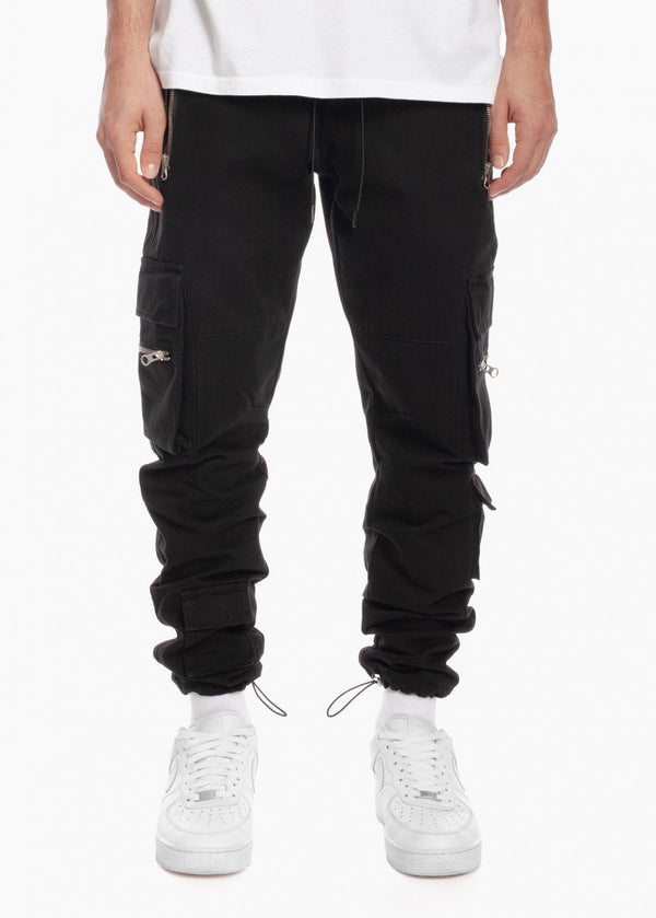 Tactical Cargo Jogger Black