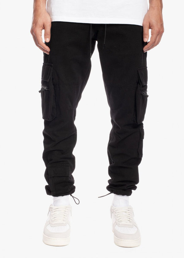 Tactical Cargo Jogger Black/Black