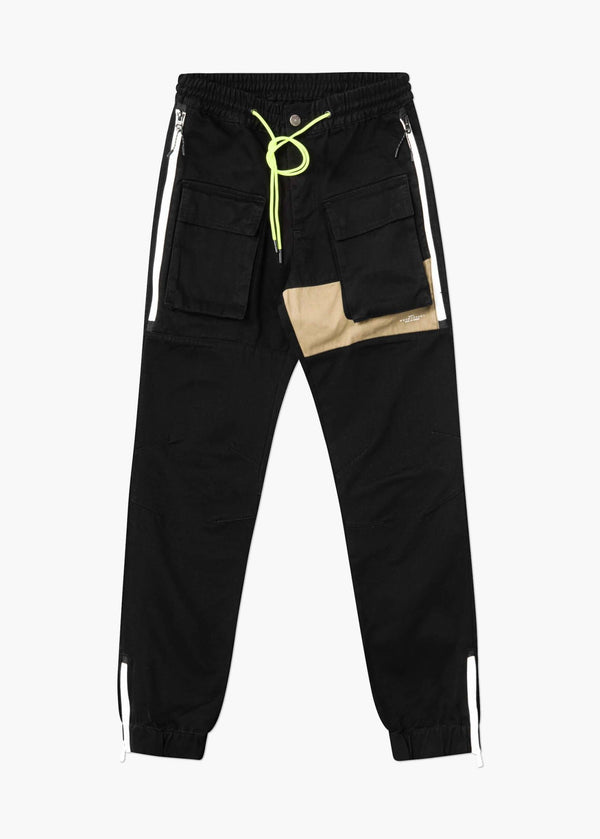 Tactical Track Jogger Black
