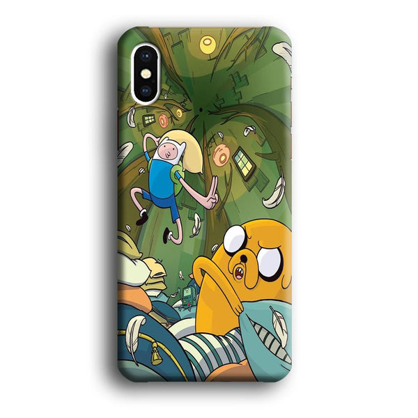 Adventure Time Flying iPhone XS Case