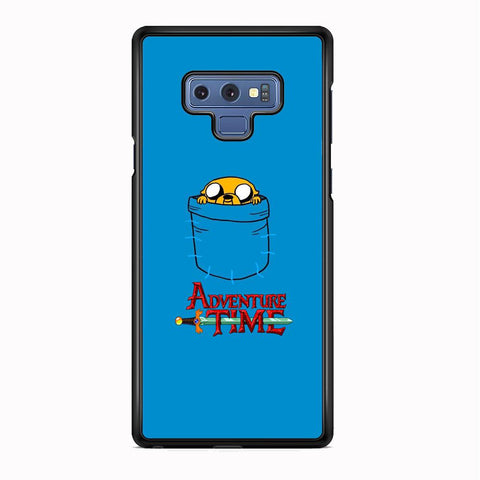 Adventure Time Jake Hungry In The Pocket Samsung Galaxy Note 9 Case