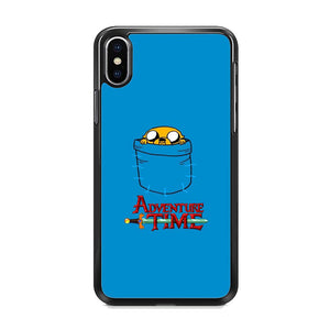 Adventure Time Jake Hungry In The Pocket iPhone XS Case